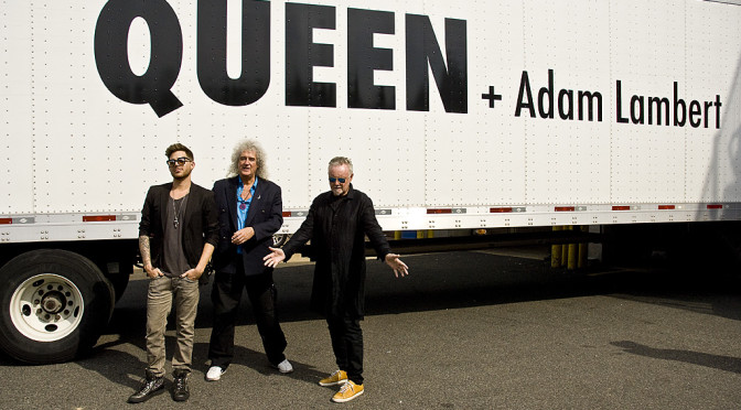Queen + Adam Lambert en photos